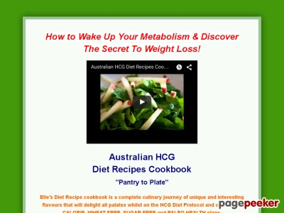 HCG Diet Recipes Cookbook