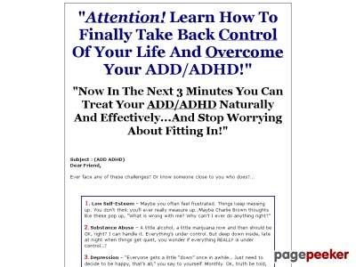 How to Conquer ADD/ADHD-Attention Deficit Disorder