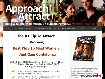 Approach And Attract E-book – ApproachandAttract.com