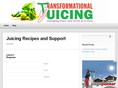 Juicing Recipes – Transformational Juicing