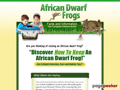 African Dwarf Frogs.com – Home