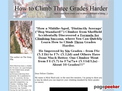 How to Climb Three Grades Harder