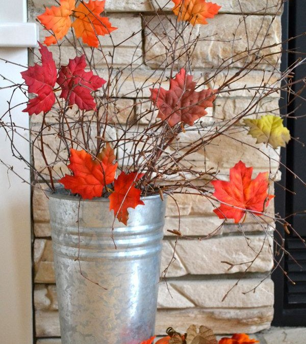 Autumn Porch Decorating Ideas eBook – a 251-page collection of 40 bloggers' decorated porches