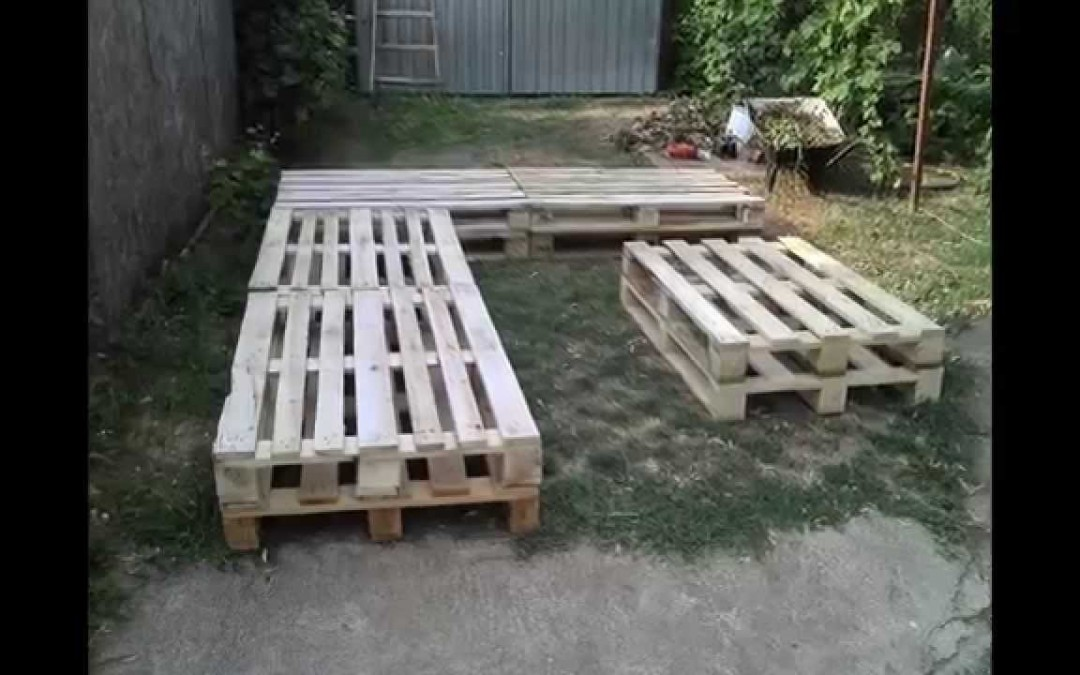 Pallet home furniture project