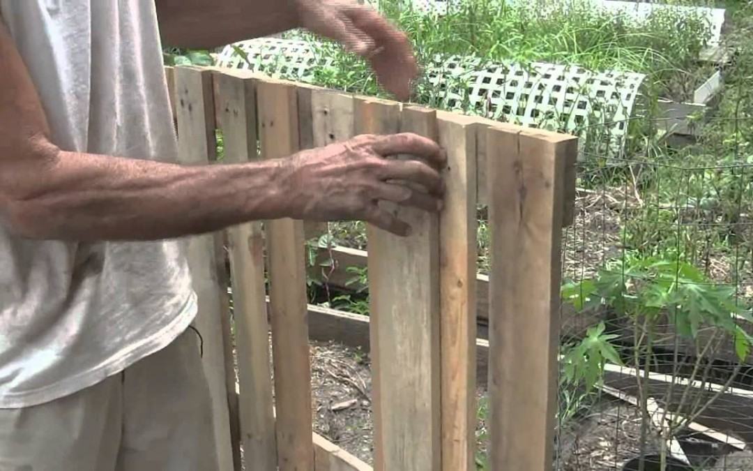 How to Construct a Lifted Bed Garden Applying Pallets