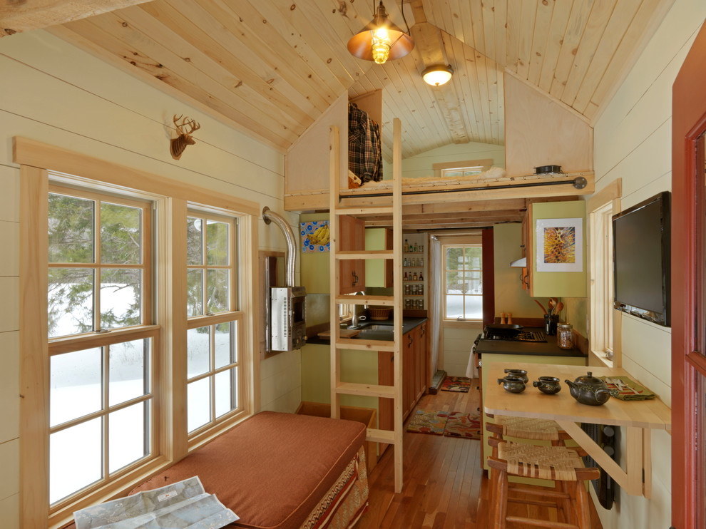 Modern Tiny House Interior: Why Tiny House Living Is Fun