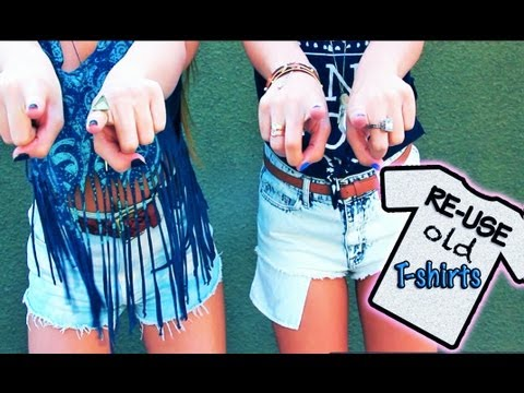 Methods to Upcycle Previous T-Shirts! – AndreasChoice
