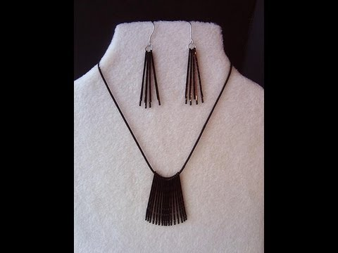 Rapid and Simple Hairpin Jewelry – DIY Freecycled Hairpins into Jewelry
