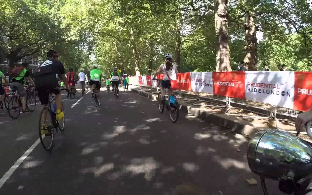 Prudential Ride London Free cycle 2014