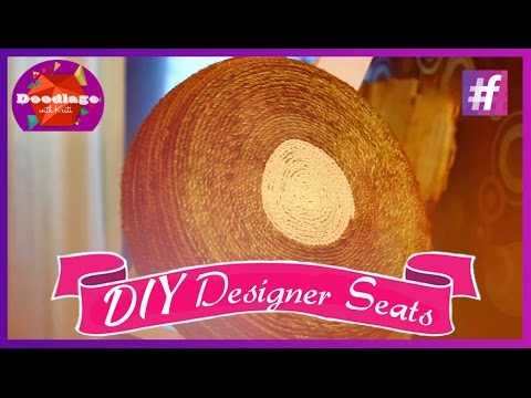 Diy Tutorial | How To Make Designer Seats employing Outdated Tyres