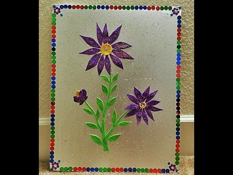 Recycled Diy: How to transform CAKE TRAY into attractive WALL Art in 5 to ten minutes?