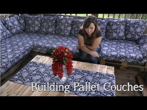 How to Build A Beautiful Pallet Couch
