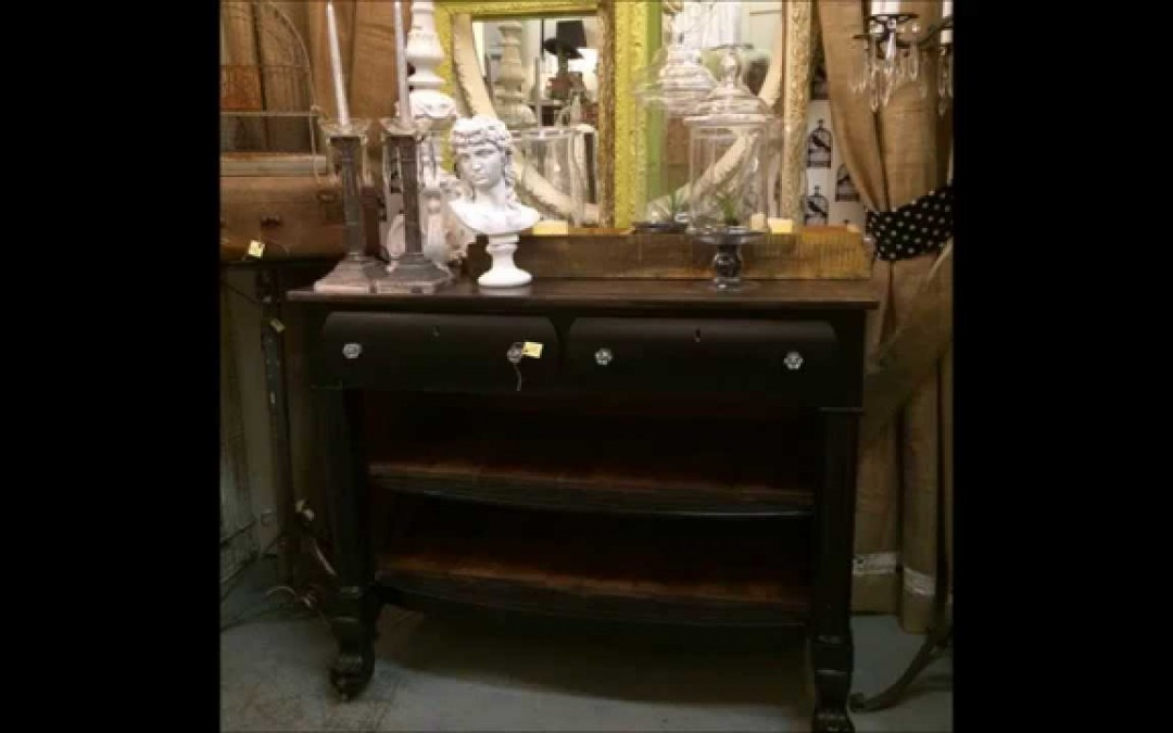 We repurposed an old Oak dresser into a beautiful buffet or sideboard