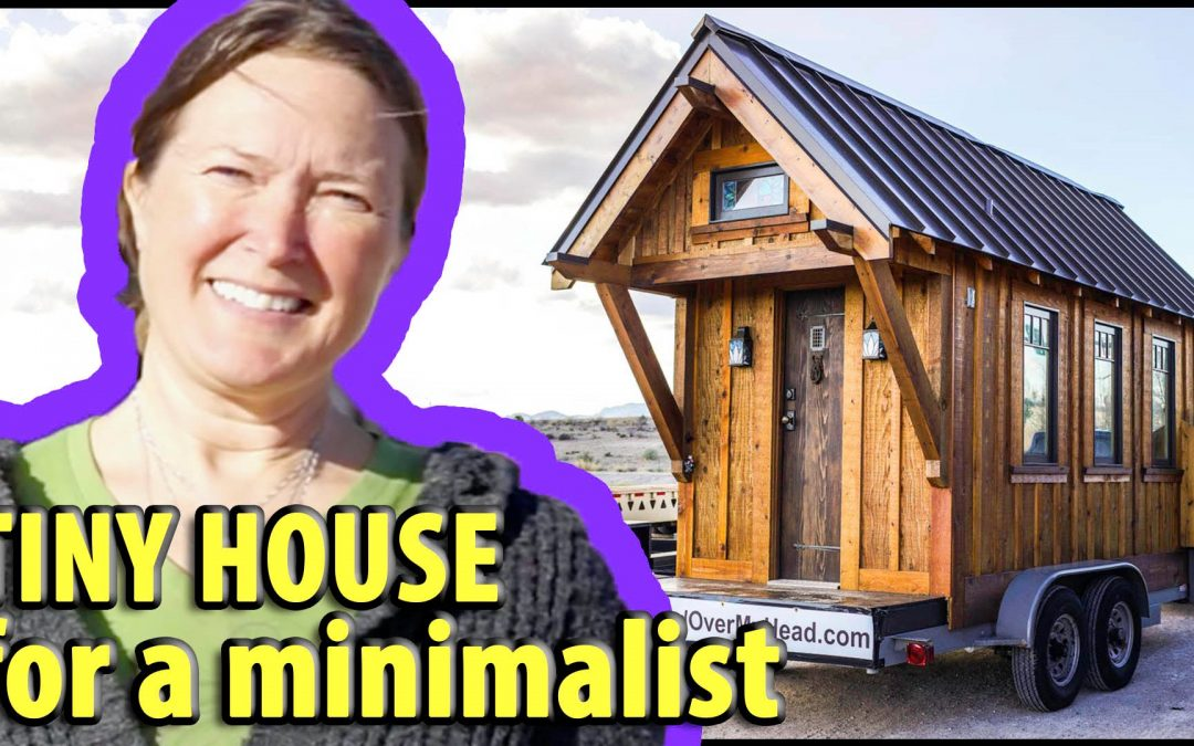 One Woman's Traveling DIY Tiny House