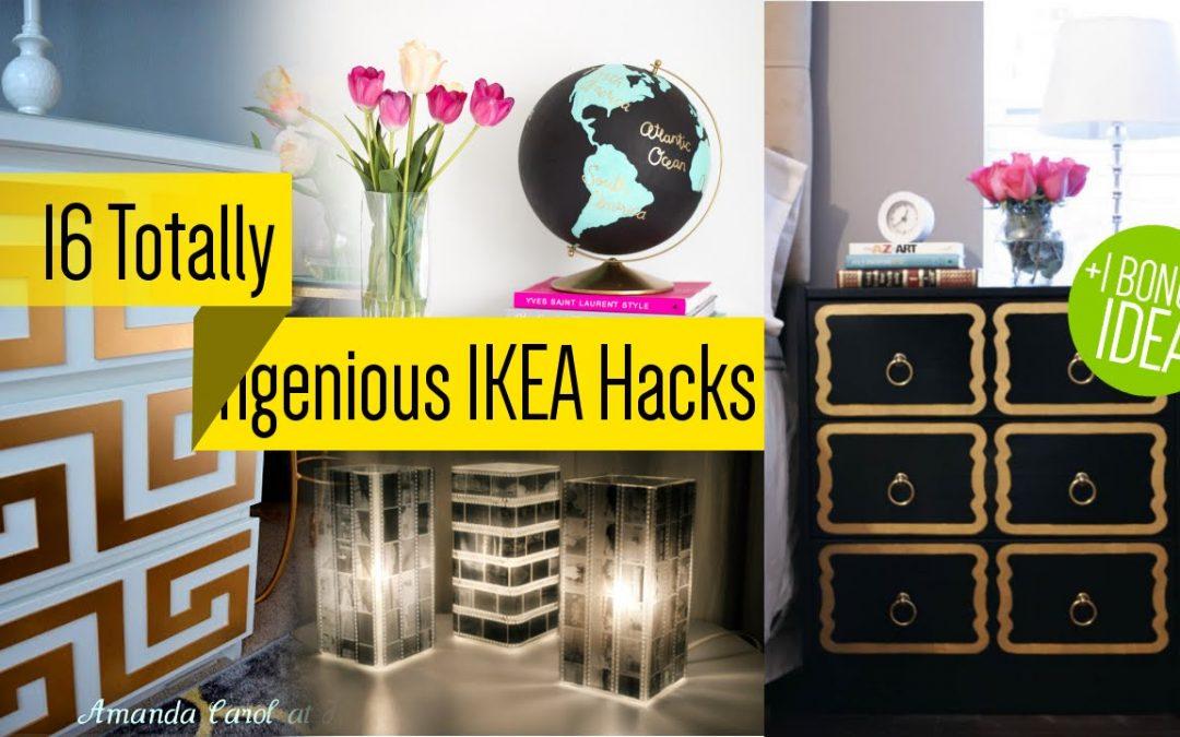 16 IKEA Furniture Makeover