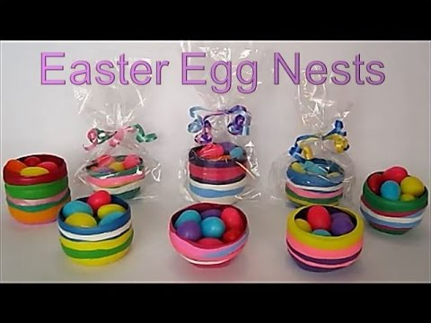 DIY Easter Crafts For Kids | Easter Egg Nests | Recycled Crafts Ideas