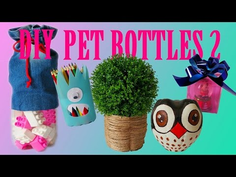 10 DIY Creative Ways to Reuse / Recycle Plastic Bottles part 2