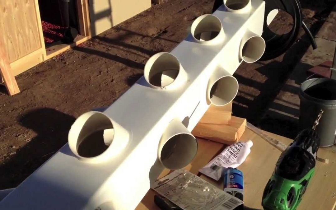 Building a hydroponic vertical garden