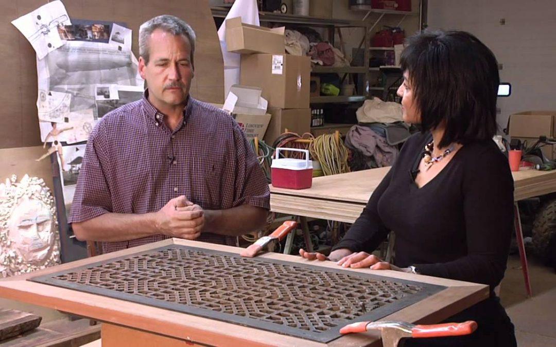 frame tv show Creating Repurposed Furniture