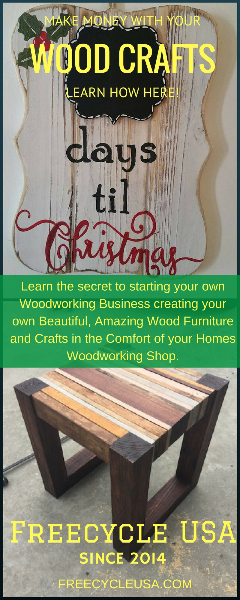 How To Make Easy Money With Your Wood Crafts - FREECYCLE USA