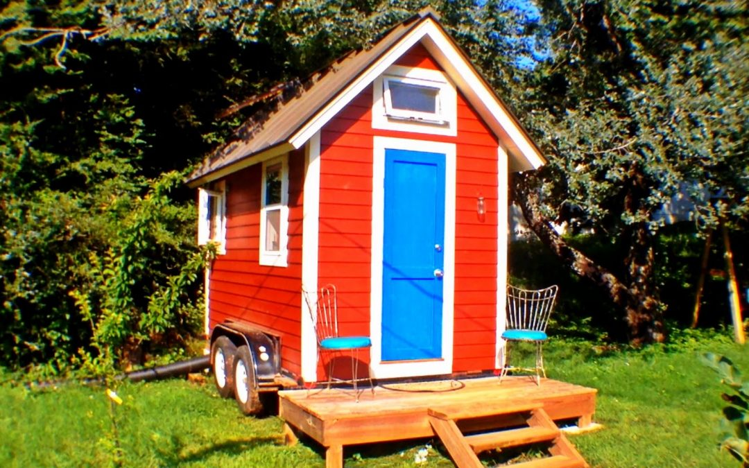 BACK TO BASICS IN THE TINY RED HOUSE