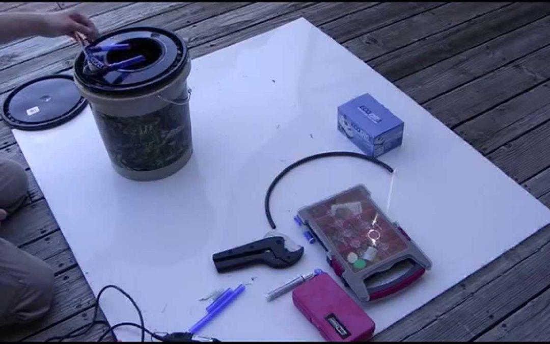 Air-Powered DWC Hydroponics System, DIY