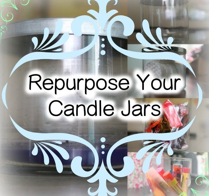 DIY: How to Repurpose Your Candle Jars