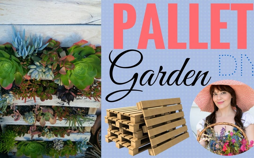 Pallet Garden ~ Easy to follow instructions!