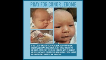 """Donate to """"Support Conor Jerome"""""""