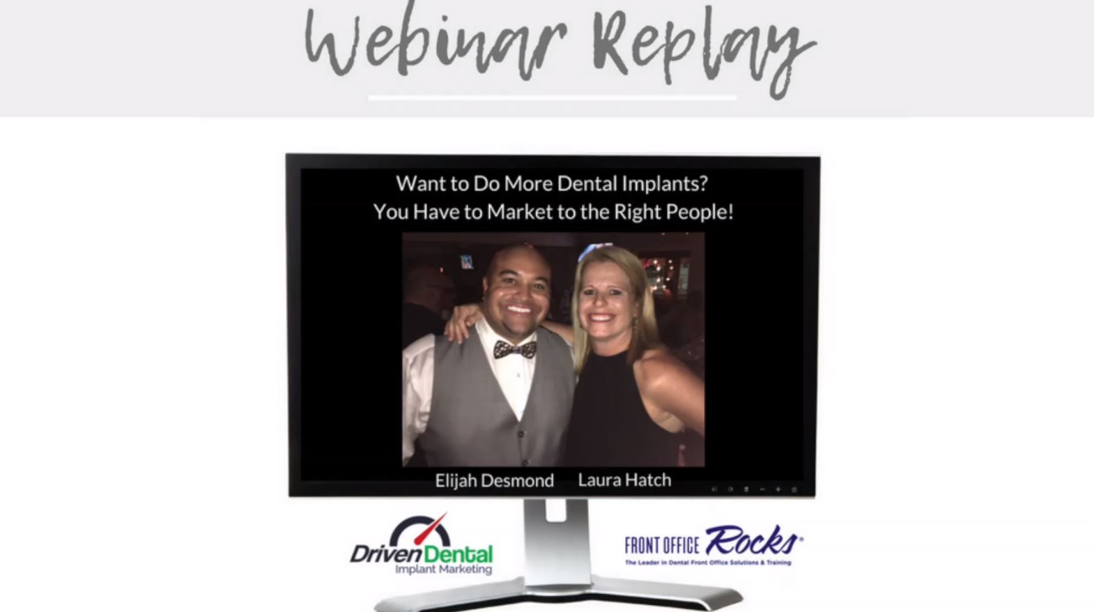 Dental Implant Marketing Webinar Image