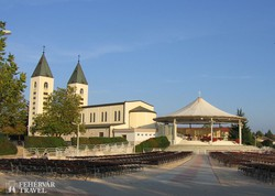 Međugorje: a Szent Jakab-templom