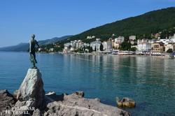 előkelő tengerparti szállodák Opatijában