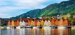 Bergen rakparti házsora, a Bryggen