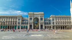 a milánói II. Viktor Emánuel Galéria épülete
