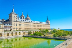 az El Escorial kolostorpalota, a spanyol királyi család lakó- és temetkezőhelye