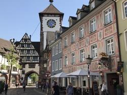 """Freiburg, a Fekete-erdő """"fővárosa"""" – óvárosi részlet"""