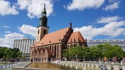 a Mária-templom Berlin szívében