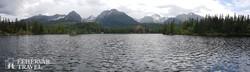 a Csorba-tó a Szlovák-Tátrában