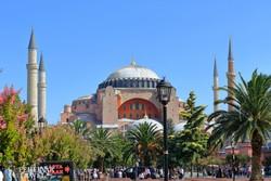 Isztambul: az Aya Sofia templom monumentális épülete