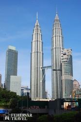 Kuala Lumpur: a Petronas tornyok