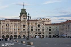 a Városháza Trieszt főterén