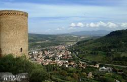 Orvieto – kilátás az Albornoz-erődből