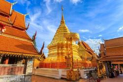 a fenséges Wat Doi Suthep Chiang Maiban