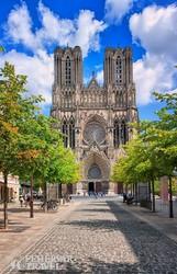Reims gótikus katedrálisa
