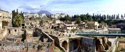 Herculaneum romvárosa – részlet