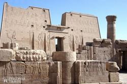 a Hórusz-templom Edfuban