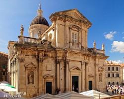 Dubrovnik impozáns katedrálisa
