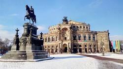 a Staatsoper (Állami Operaház) Drezdában