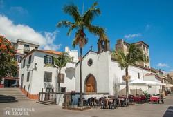 mediterrán hangulat Funchal belvárosában