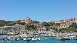 Gozo hangulatos kikötője